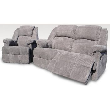 Oscar fabric recliner lounge
