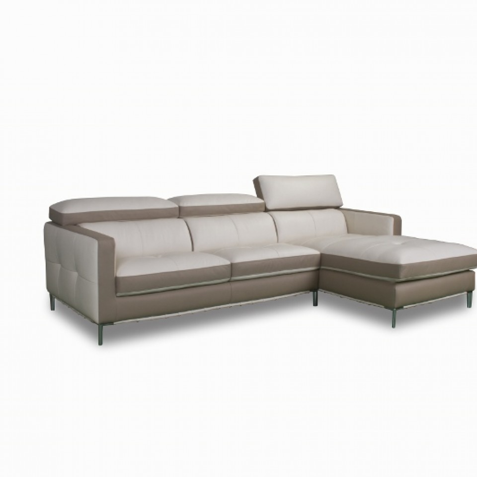 Chaise lounge leather s8228 brisbane devlin lounges for Chaise leather lounge
