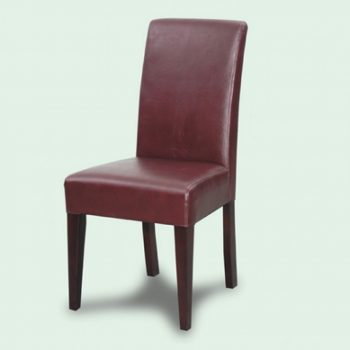 Century Leather Dining Chair
