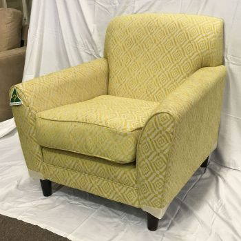 Kirra Accent Chairs made to order in your choice of fabric