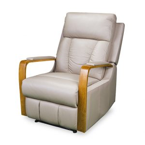 3176 recliner in cobblestone leather