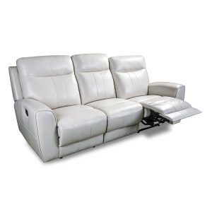 3180 3 seater in white leather