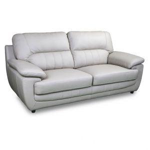 Orleans 3 seater in Ivory leather