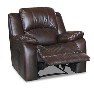 Luke recliner in 2T Brown leather