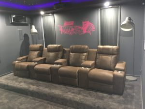 HT Urban home theatre seating