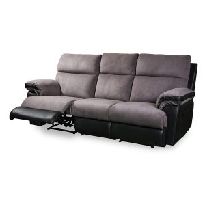 Catalina 3187 3 seater in fabric and leather