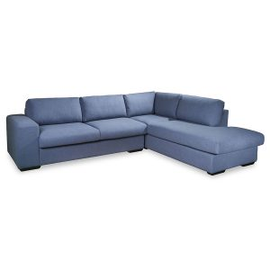 Tucson 8305 fabric modular sofa in blue